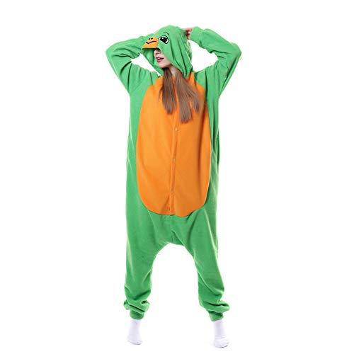SSM Onesie Erwachsene Unisex Pyjamas Tiger Lion Fox Tier Schlafanzug Cosplay Halloween Karneval Kostüm Loungewear Schildkröte XL