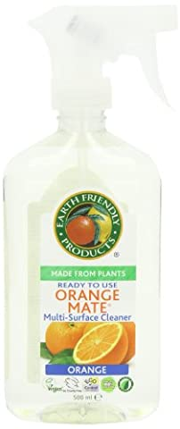 Earth Friendly Products Orange Mate Ready to Use Surface Cleaner 500 ml (Pack of 6)