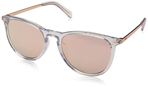Fossil Herren FOS 3078/S Sonnenbrille, Transparent (CRYSTAL), 53