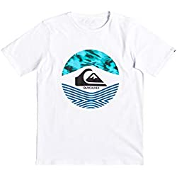 Quiksilver Stomped On Camiseta, Niños, Blanco (White), M