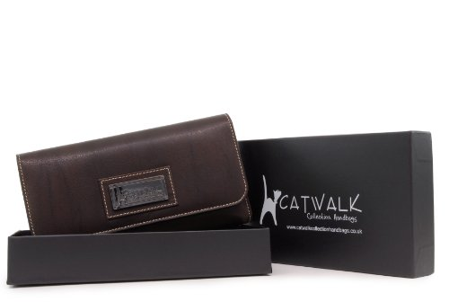 Borsellino in pelle Catwalk Collection - Gemma - scatola regalo - Marrone