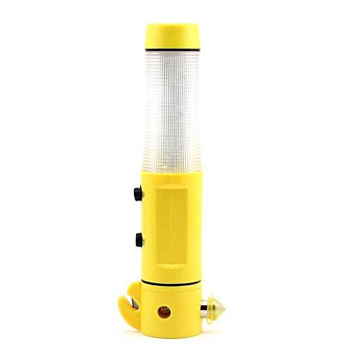4in1 Multifunktions-LED Taschenlampe Fackel-Sicherheit Auto Nothammer und Gurtschneider