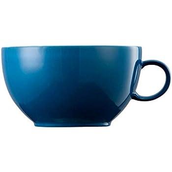 Thomas Sunny Day Cobalt Blue Jumbo Tasse 0,45l mit Untertasse 2tlg NEU Blau
