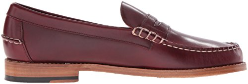 Sebago Mens Legacy Penny Loafer Red Leather