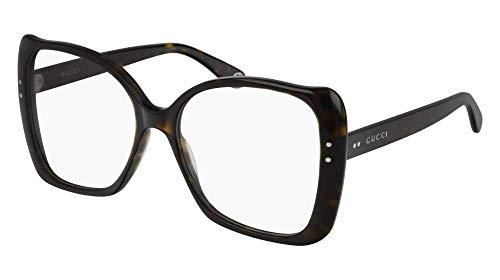 Gucci Brillen GG0473O DARK HAVANA Damenbrillen