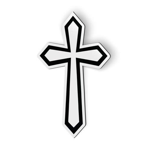 VinMea AK Wall Art Cross Faith Christian - Magnet - Car Fridge Locker - 6-Inch (Christian Car-magnete)