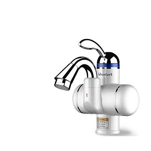JYSLTLRS Wasserhahn Home Küche Touch Wasserhahn Warmwasser Heizhahn Mit Elektrischer Dusche 220 V Induktionsheizung Durchlauferhitzer, Lila (Kaufen Durchlauferhitzer)