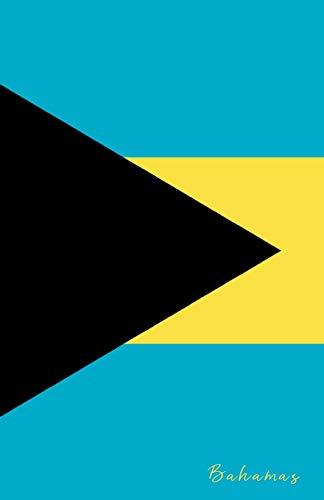 Bahamas: Flagge, Notizbuch, Urlaubstagebuch, Reisetagebuch zum selberschreiben -