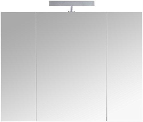 3-türiger Spiegelschrank – Superflach Berlin, 80 cm - 2