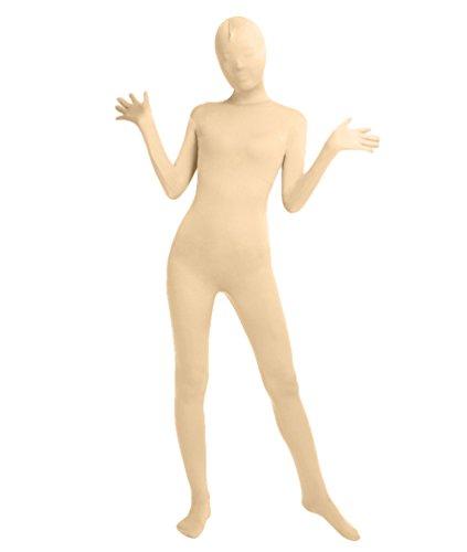 NiSeng Erwachsener und Kind Bodysuit Kostüm Zentai Ganzkörperanzug Kostüm Lange Ärmel Bodysuit Kostüm Teint S