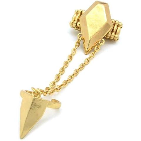 Catena Stretch Fashion Anelli in Oro tono jr3022gd