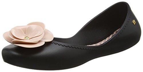 Zaxy Damen Start Bloom Ballerinas Black (black Contrast)