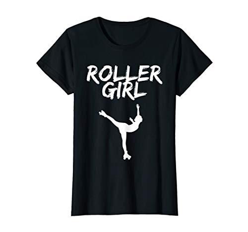 Roller Girl Shirt Rollkunstlauf. Für Rollschuh Mädchen