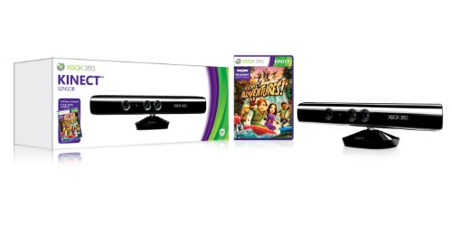 Price comparison product image Microsoft Kinect Sensor With Kinect Adventures!