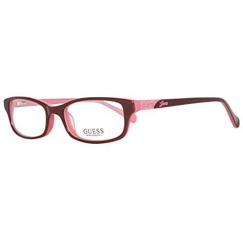 GUESS Brillengestell GU 2292 Braun/Rosa 50MM