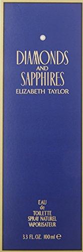 Elizabeth Taylor diamantes y zafiros Eau de Toilette–100ml