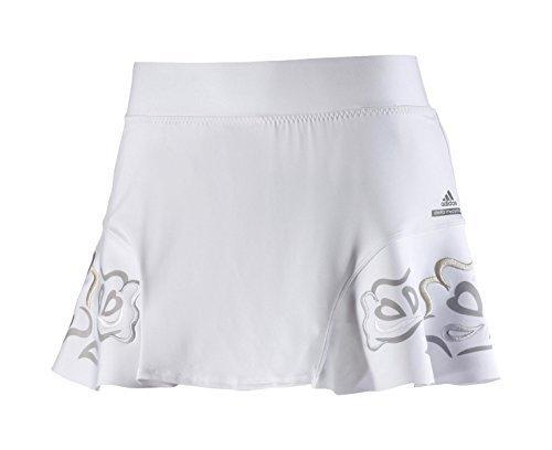 adidas by Stella McCartney Barricade Roland Garros Tennisrock Damen RG Rock Skirt Weiß (XS) (Stella Tennis Rock)