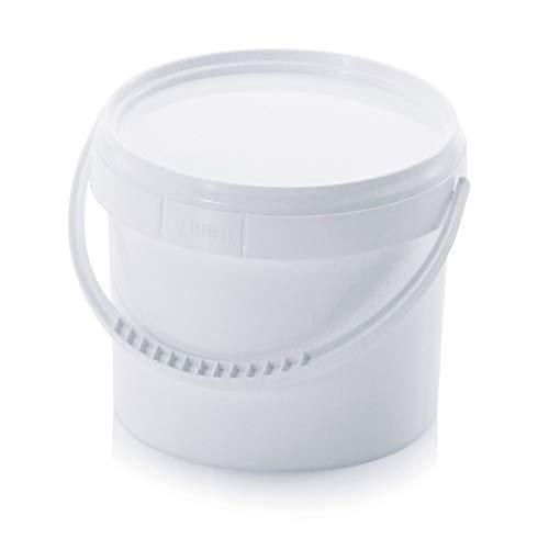 Hitools - Cubo Tapa asa plástico sustancias líquidas