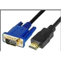 سلك تحويل من HDMI إلى VGA بطول 3 متر    HDMI to VGA Cable 3 Meters