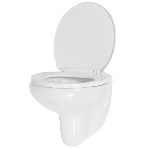 Tidyard Toilette avec Siège   Cuvette WC Suspendu  ...