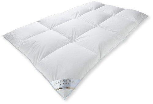 Piumino coperta, Cassetta, invernale molto caldo, 90% piumino/10% piume, tipo: Canada, 660gr., 03 aqua, 200 x 220 cm