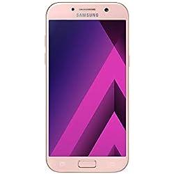 Samsung SM-A520FZIAXEO 13,20cm (5,2Pouces) Smartphone Galaxy A5(2017) (Appareil Photo 16MP, 32Go, LTE NFC, WiFi, Bluetooth, Android 6.0Marshmallow) Rose