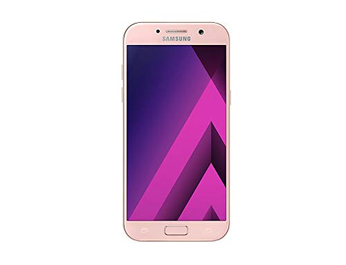 EO 13,20 cm (5,2 Zoll) Smartphone Galaxy A5 (2017) (16MP Kamera, 32GB, LTE NFC, WiFi, Bluetooth, Android 6.0 Marshmallow) rosa ()
