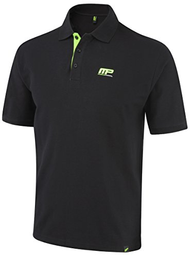 Polo Muscle Pharm uomo textilbek leidung Embroidered - 31OFIlHFuML