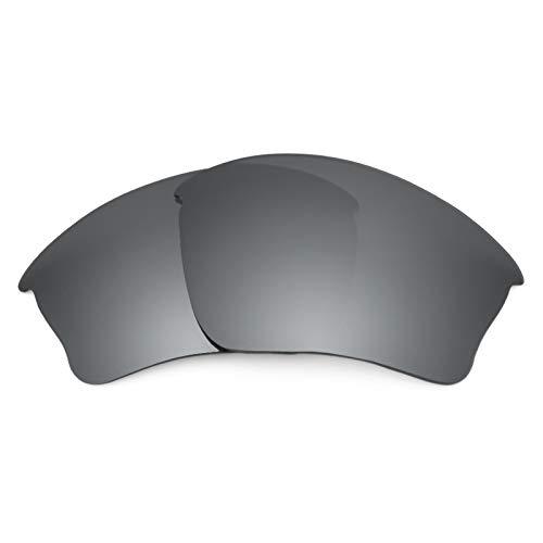 Revant Ersatzlinsen für Oakley Half Jacket XLJ Schwarz Chrom MirrorShield® Asian Fit Schwarz Half Jacket