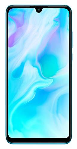 HUAWEI P30 lite Dual-SIM Smartphone Bundle (6,15 Zoll, 128 GB ROM, 4 GB RAM, Android 9.0) Peacock Blue + SD Karte [Exklusiv bei Amazon] - DE Version (Amazon-handy Dual-sim)