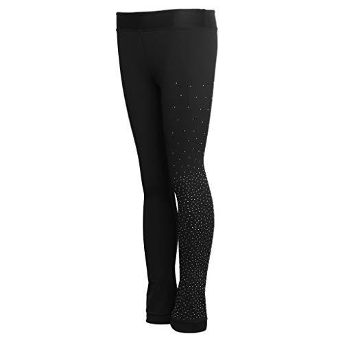 F Fityle Pattinaggio Calze Pantaloni Skating Impermeabile per Bambini Pantaloni Termici Invernali
