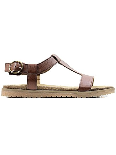 Will's Vegan Shoes Footbed sandals chestnut-3 UK/36 EU/5 US