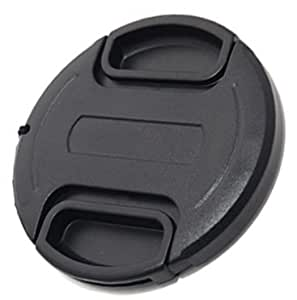 Maxsimafoto - Lens cap with String 40.5mm for Nikon 1, J1, J2, J3, V1, V2, S1, 10-30mm / 11-27.5mm / 30-100mm / 18.5mm Lens. Snap on, Clip on, Front cap.