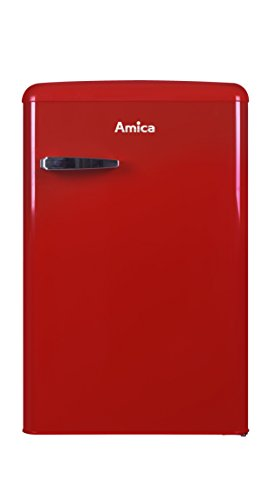 Amica KS15610R nevera congelador Independiente Rojo