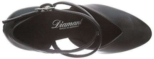 Diamant Diamant Damen Tanzschuhe 113-009-034, Chaussures de Danse de salon femme Noir - Noir