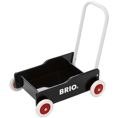 Brio 31351000 - Andador de madera, color negro [importado de Alemania]