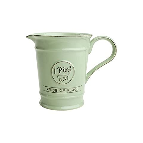 T & G Pride Of Place Pint Jug Old Green