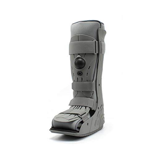 Cheng la frattura del piedino regolabile per la parte superiore della frattura del piede si adatta al deambulatore sinistro e destro,gray,s