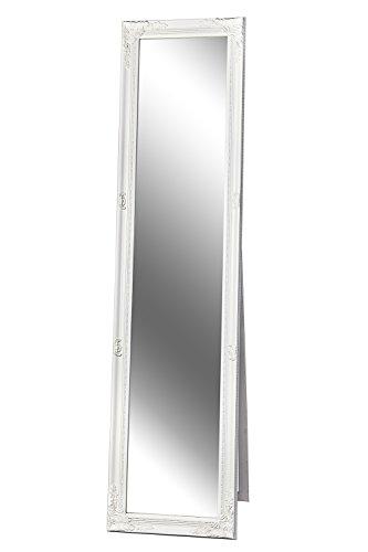 Standspiegel Spiegel Barock weiß GLORIA 160 x 40 cm