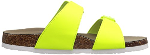 Madden Girl Brando Slide-sur Sandal yellow