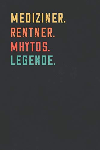 Mhytos. Legende.: Notizbuch - individuelles Ruhestand Geschenk für Notizen, Zeichnungen und Erinnerungen   liniert mit 100 Seiten ()