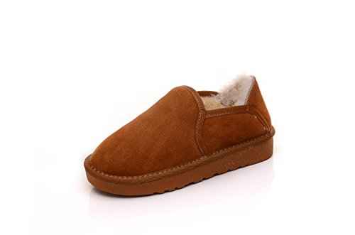 Plus chaud hiver manchon pédale paresseux velours pédale chaussures femmes télévision