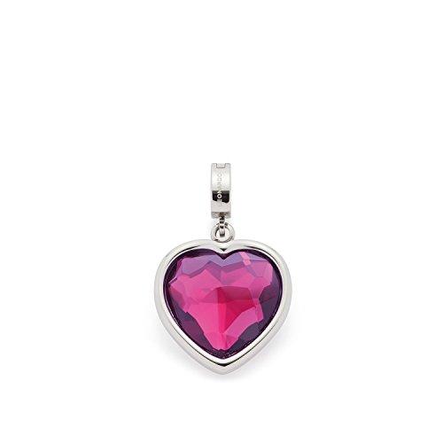 Leonardo Jewels Damen Anhänger Darlin's Daniella Edelstahl Glas pink 016415