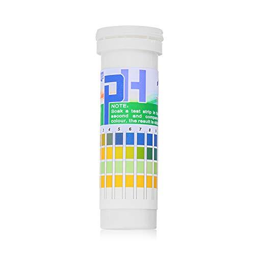jumpeasy der Gesundheit 114 4.59.0 Indikator der Alkalinität Prüfung des Wassers Für die Speiche Universelle Prüfstreifen PH Testpapier PH Meter (1-14 range)