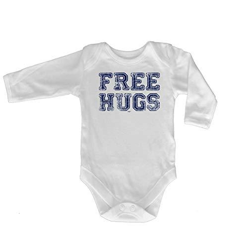 123t Lustiger Baby-Strampler - Jumpsuit Strampelanzug, Geschenk Neuheit Babybody Brand 991 Gr. 18-24 Monate, Free Hugs Distressed Baby - Baumwolle Distressed-strampelanzug