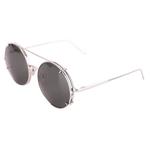 Linda Farrow Damen Lfl647c5sunwhgdgr Grau Metall Sonnenbrille