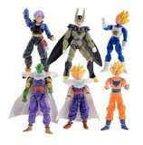 Dinglongshan Dragonball Z Saiyan action figures Goku Piccolo Action Figures Toys Children Kids Christmas Gift Classic Collection Set Toy Anim Multicol by