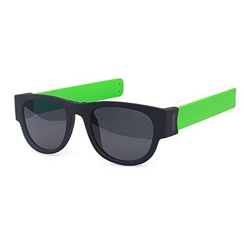 xinzhi Radfahren Brille, Strand Brille Sport Sonnenbrillen Fahrrad Brille Angeln Brille Spiegel Spiegel Beine für Outdoor-Sport - grün