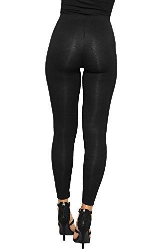 WearAll - Squelette imprimé leggings long - Pantalons - Femmes - Tailles 36 à 42 Noir