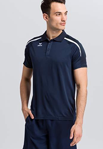 Erima Herren Poloshirt, New Navy/Dark Navy/Weiß, L